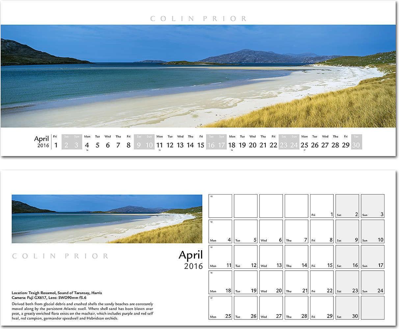 Colin Prior Desk Calendar 2016 - Rose Calendars