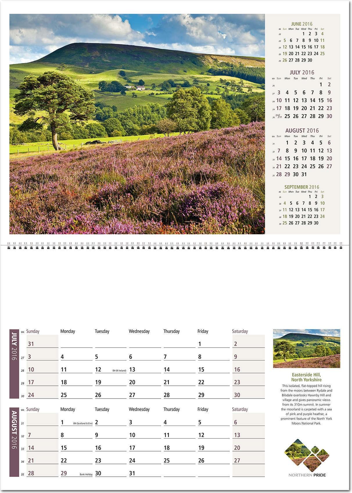 April Rose Calendar : Northern pride postage saver calendar rose calendars
